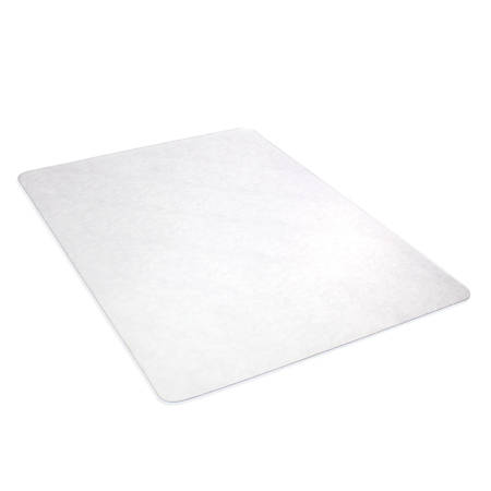 "Deflect-O DuoMat® Chair Mat For Carpets And Hard Floors, Rectangular, 36"" x 48"", Clear"