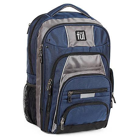 ful Big Unit Laptop Backpack, Navy