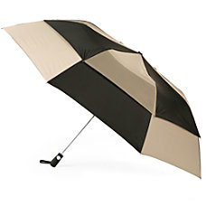 Totes Folding Golf Umbrella Large BlackTan