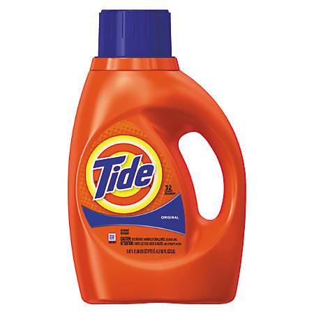 Tide® 32-Use Liquid Detergent, 50 Oz