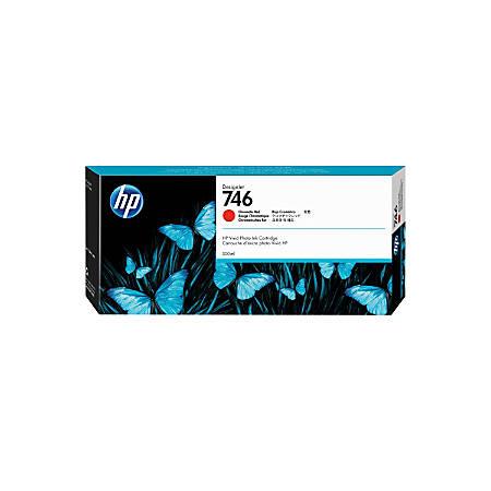 HP 746 300-mL Chromatic Red Ink Cartridge (P2V81A)