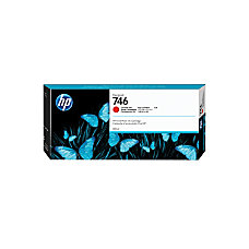 HP 746 300 mL Chromatic Red