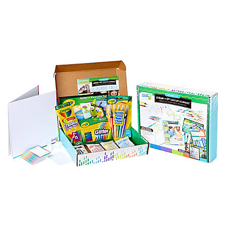 Crayola creatED STEAM Learning Family Engagement Kit, Grades 6 - 8