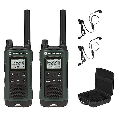 Motorola Talkabout T465 Two-Way Radio, Dark Green