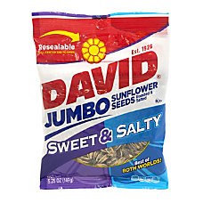 David Jumbo Sunflower Seeds Sweet And