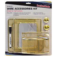 LockerMate Locker Accessory Kit Gold