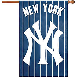 Party Animal Yankees Applique Banner Flag