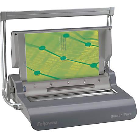 Fellowes® Quasar Wire Binding Machine