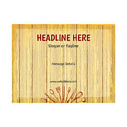 Custom Flyers Horizontal Chopping Board