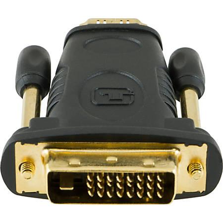 Ativa® DVI To HDMI Adapter Cable, Black