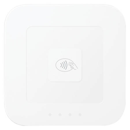 Square Contactless And Chip Card Reader, White