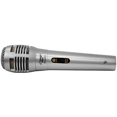 PylePro PDMIK1 Microphone - 50 Hz to 15 kHz - Wired - 6.50 ft -54 dB - Dynamic - Handheld