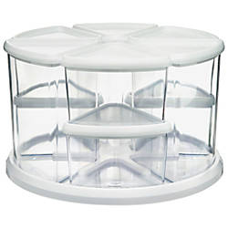 deflecto Carousel Organizer Set 9 Compartments