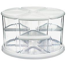 Deflecto Rotating Carousel Organizer 9 Compartments