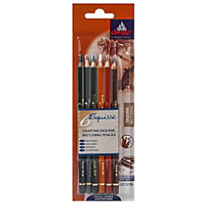 Conte Pencil Set Sketching Assorted Colors