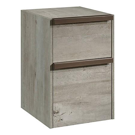Sauder® Manhattan Gate Mobile Vertical File Cabinet, 2-Drawer, Letter Size, Mystic Oak