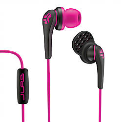 JLab Core Custom Fit Earbuds Pink