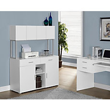Monarch Specialties Office Cabinet Credenza White