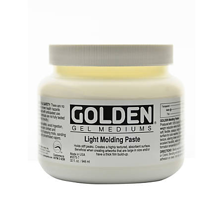 Golden Molding Paste, Light, 32 Oz
