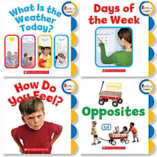 Scholastic Childrens Press Rookie Toddler Book