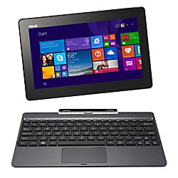 "ASUS® Transformer 2-in-1 Laptop Computer With 10.1"" Screen & Atom Z3735F Processor, Model Number T100TAF-B12-GR"
