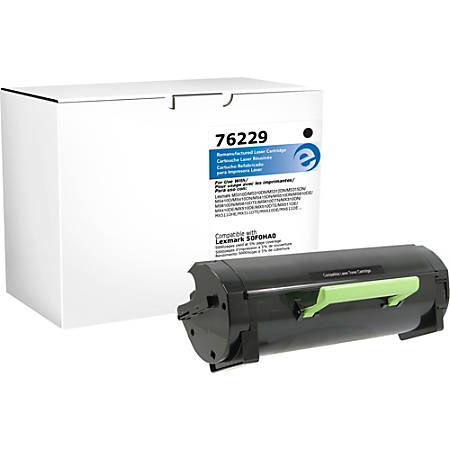 Elite Image Remanufactured Toner Cartridge - Alternative for Lexmark 501H (50F1H00) - Black - Laser - High Yield - 1 Each