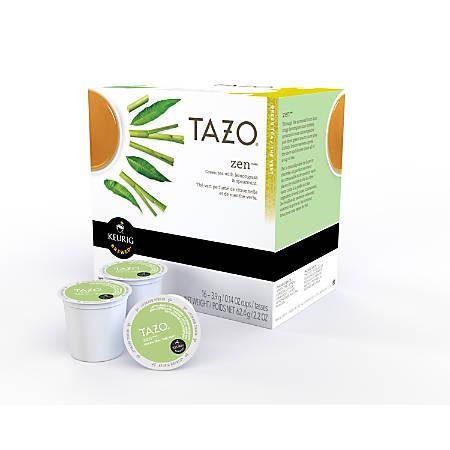 Tazo Zen Green Tea K-Cup® Pods, 0.4 Oz, Box Of 16 Pods