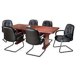Sauder Conference Table H X W X D Classic Cherry By - 30 conference table