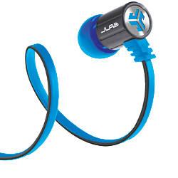JLab Bass Rugged Earbuds BlueGray