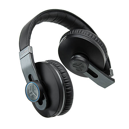 Omni Premium Folding Bluetooth® Wirelss Over-The-Ear Headphones With Carrying Case, Black