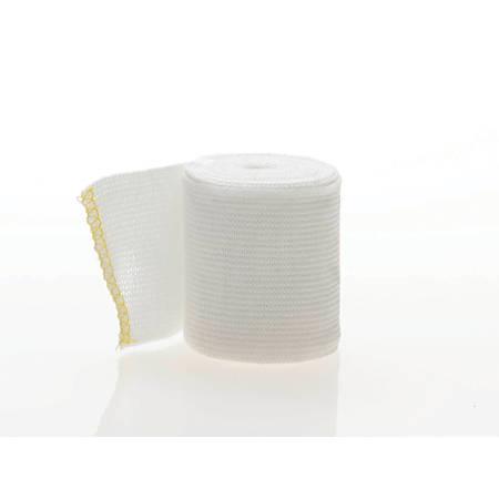 "Medline Non-Sterile Swift-Wrap Elastic Bandages, 2"" x 5 Yd., White, Case Of 20"
