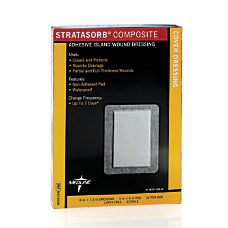 Stratasorb Composite Island Dressings 6 x