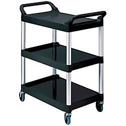Rubbermaid 3 Shelf Utility Cart 37