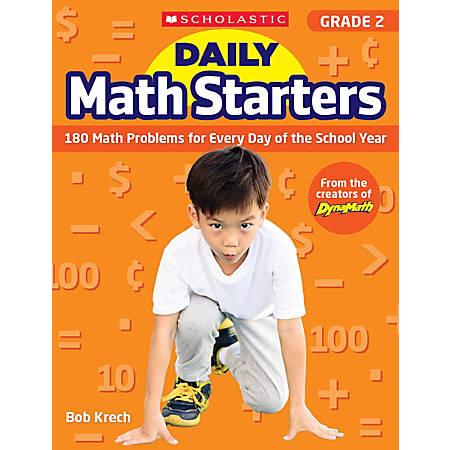 Scholastic Teacher Resource Daily Math Starters, Grade 2