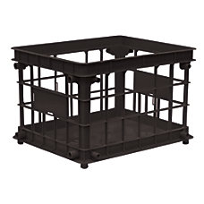 Office Depot Brand FilingStacking Crate 10