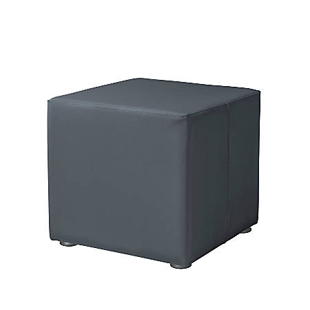 "Marco Square Seating Ottoman, 18""H, Graphite"