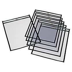 SKILCRAFT Transparent Poly Envelopes Clear Pack