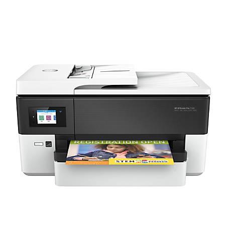 Hp Officejet Pro 7720 Wireless Color 23 38 Inkjet Wide Format All In