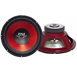 Pyle PLW10RD Woofer 600 W PMPO
