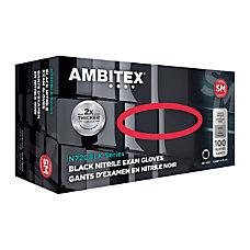 Ambitex Disposable Powder Free Nitrile Gloves