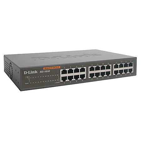 D-Link® DGS-1024D 24-Port 10/100/1000 Gigabit Switch