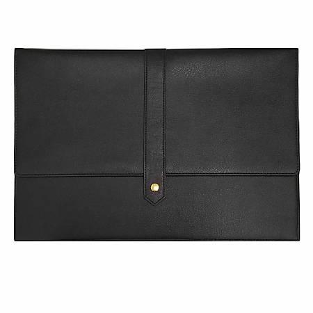 "Noteworthy Laptop Case With 15"" Laptop Pocket, Black"