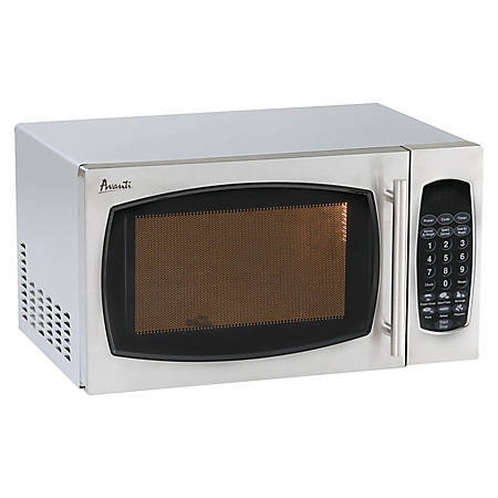 Avanti® 0.9 Cu. Ft. One-Touch Microwave, Stainless Steel Finish