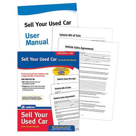 Adams® Sell Your Used Car