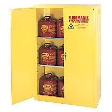 90GAL 2 DOOR SAFETY STORAGE CABINET