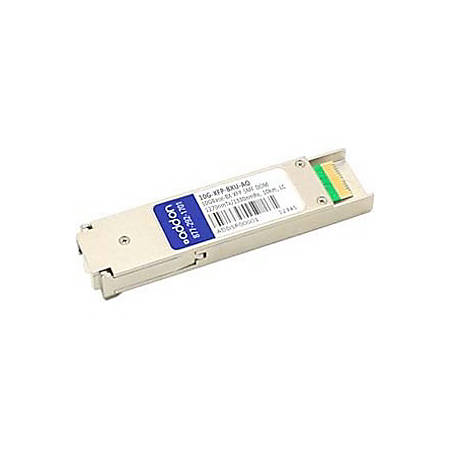 AddOn Brocade Compatible TAA Compliant 10GBase-BX XFP Transceiver (SMF, 1270nmTx/1330nmRx, 10km, LC, DOM)