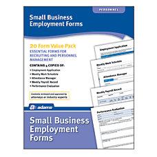 Adams Small Business Employment