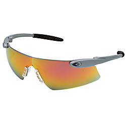 DESPERADO SAFETY GLASSESSILVER FRAME RMIRROR L