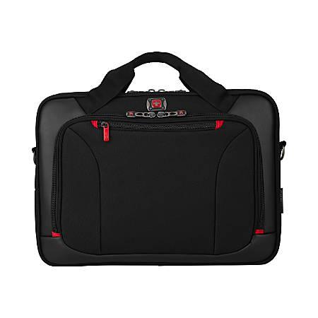 "Highwire Briefcase For 17"" Laptop, Black"