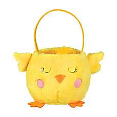 Amscan Plush Chick Easter Baskets 6